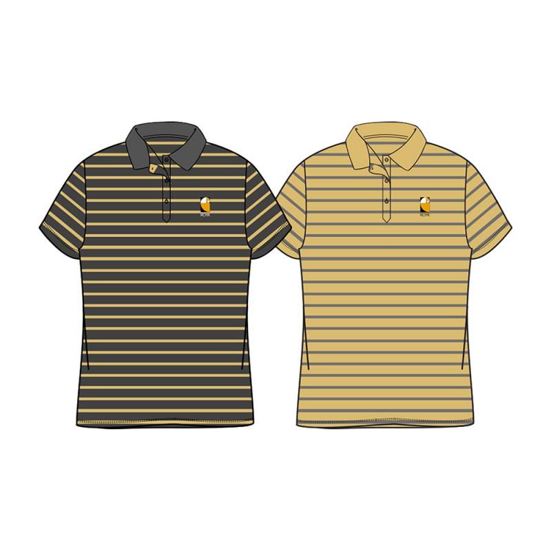 Girl's Stripe Polo Shirt